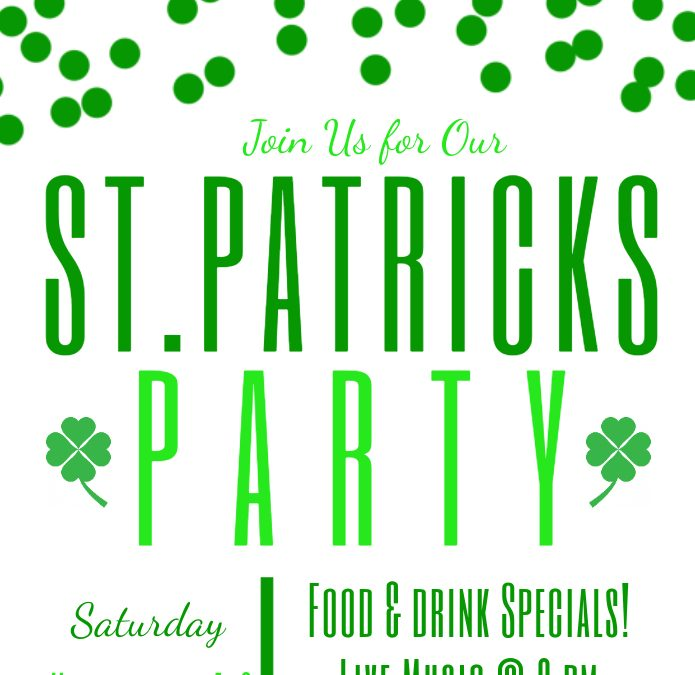 St. Patrick's Party at Open Range!