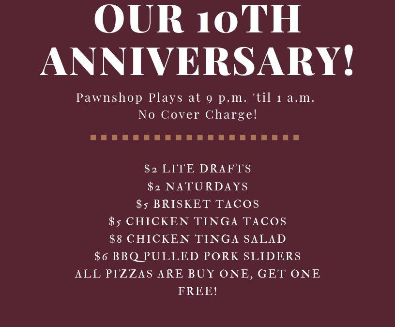 10th Anniversary & Customer Appreciation Party