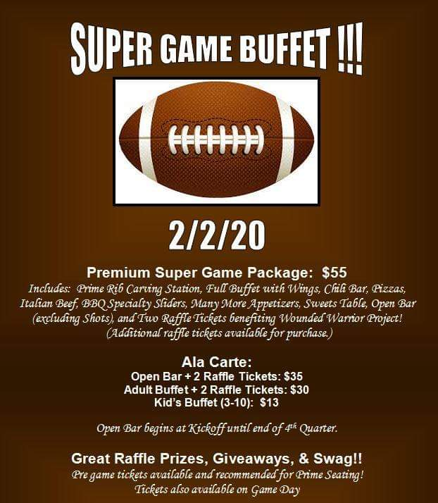 Big Game Day Buffet